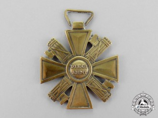 Italy. A Long Service Cross of the National Security Volunteer Militia (Blackshirts) for Ten Years' Service