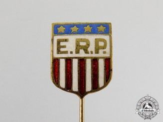 United States. A European Recovery Program (ERP) Stickpin