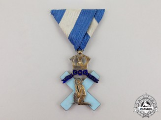 Serbia, Kingdom. An Orthodox Order of St. Andrew