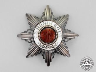 Bulgaria, Kingdom. An Order of St. Alexander; Second Class Star by Scheid