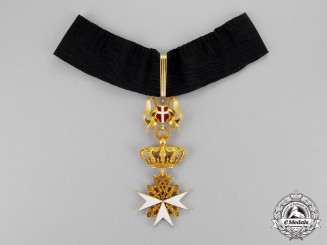 Austria, Imperial. A Donat of Devotion's Cross of the Grand Priory of Austria & Bohemia of the Order of Malta