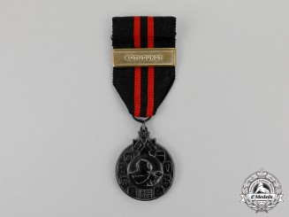 Finland. A Winter War 1939-1940 Medal, Type III for Finnish Soldiers with Coast Guard (Kotijoukot) Clasp