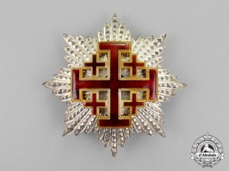 International. A Sovereign Military Order of the Temple of Jerusalem, Commander's Star