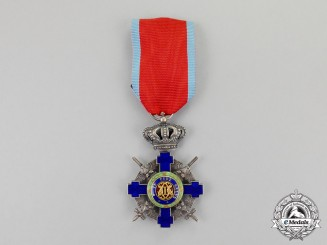 Romania, Kingdom. An Order of the Star of Romania, Knight, Type II (1932-1947)