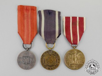 Poland. Three Medals & Awards
