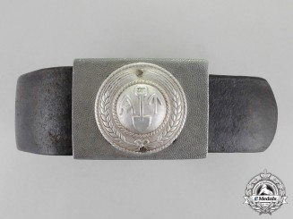 Norway. A Labour Corps Guard Belt and Buckle