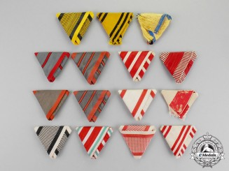 Austria, Imperial. A Selection of 15 pre-1945 Austrian, Austro-Hungarian Ribbons