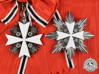 Germany, Third Reich. An Order of the German Eagle, Grand Cross, by Gebrüder Godet