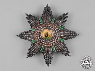 Iran, Pahlavi Empire. An Order of the Lion and the Sun, I Class Star, c.1900