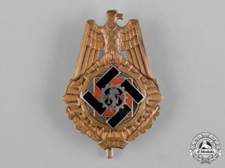 Germany, Third Reich. A Technische Nothilfe (Technical Emergency Help) Service Honour Badge by Wilhelm Fühner