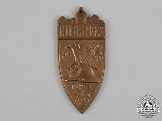 Germany, Third Riech. A 1929 Nuremberg Rally Badge by Ferdinand Hoffstätter