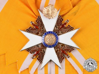 Prussia, Kingdom. An Order of the Red Eagle, Grand Cross with Oak Leaves, by Wagner & Sohn