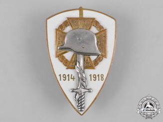 Hungary, Kingdom. A Frontline Fighters Association Membership Badge by N. Berán