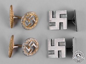 Germany, Third Reich. A Lot of Third Reich Period Cufflinks