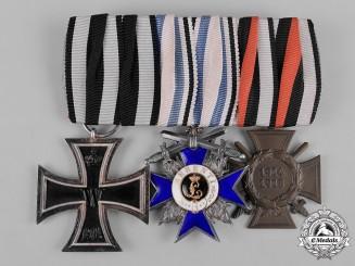 Bavaria, Kingdom. A First War Military Merit Medal Bar