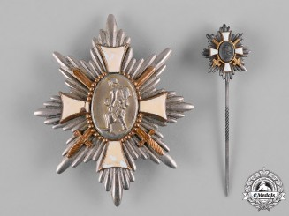 Germany, Imperial. A First War German Field Honour Badge and Stickpin