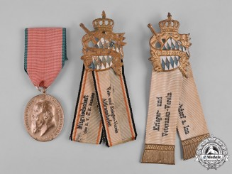Bavaria, Kingdom. A Lot of Veteran Badges & Medals