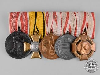Austria, Imperial. An Extensive First War Period Medal Bar