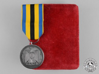 United Arab Republic. A United Arab Republic Medal with Case of Issue