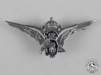 Bulgaria, Kingdom. A Royal Air Force Pilot Badge, c,1937