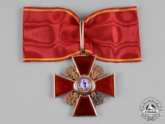 Russia, Imperial. An Order of Saint Anne in Gold, by Albert Keibel, c.1900