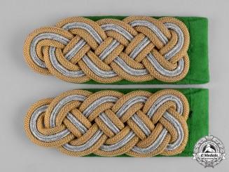Germany, Ordnungspolizei. A Set of Ordnungspolizei (Order Police) Major General Shoulder Boards