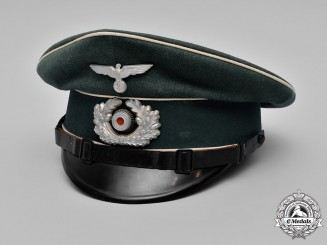 Germany, Heer. A Germany Army Infantry NCO/EM Visor Cap