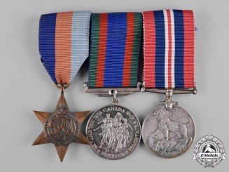 Canada. A Second War Veteran's Group of Three
