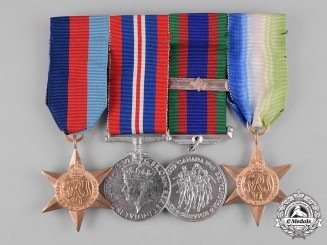 Canada. A Second War Veteran's Group of Four