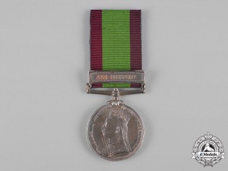United Kingdom. An Afghanistan Medal 1878-1980, 45th Regiment, Native Infantry