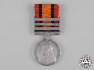 United Kingdom. A Queen's South Africa Medal, 1899-1902, South African Constabulary