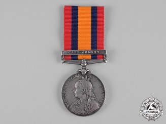 United Kingdom. A Queen's South Africa Medal 1899-1902, South African Constabulary