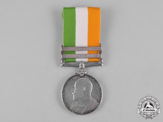 United Kingdom. A King's South Africa Medal 1901-1902, South Lancashire Regiment