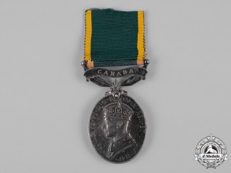 Canada. An Efficiency Medal, Royal Canadian Artillery (Non Permanent)