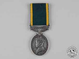 United Kingdom. An Efficiency Medal, Royal Signals