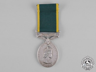Canada. An Efficiency Medal, Royal Canadian Army Service Corps