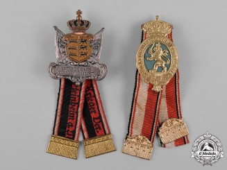 Germany, Imperial. A Pair of Warrior Association Membership Badges