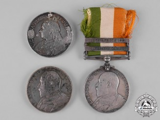 United Kingdom. Three South African War Medals