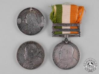 United Kingdom. Three South African War Medals