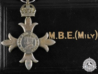 United Kingdom. A Most Excellent Order of the British Empire, Member Badge, Military (MBE)