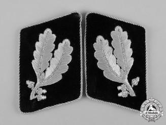 Germany, SS. A Set of Waffen-SS Oberführer Collar Tabs
