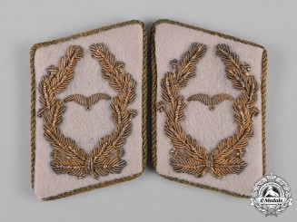 Germany, Luftwaffe. A Set of Major General's Collar Tabs