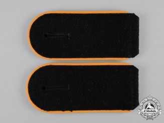 Germany, SS. A Set of SS Feldgendarmerie Mann Shoulder Straps