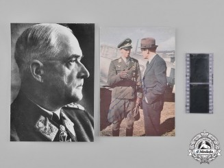 Germany, Luftwaffe. A Pair of Photographs of Robert Ritter von Greim and Hermann Graf