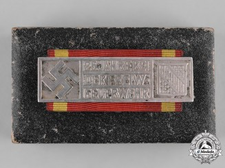 Germany, Third Reich. A Baden Volunteer Fire Brigade 25-Year Long Service Badge