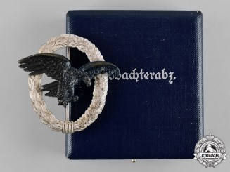 Germany, Luftwaffe. An Observer Badge, 1957 Issue, by Assmann & Söhne