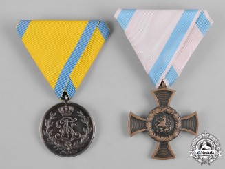 Germany, Imperial. A Pair of Imperial German Awards