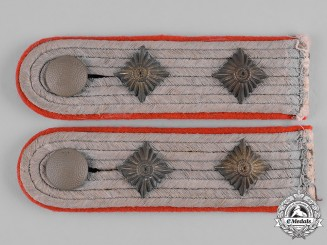 Germany, Heer. A Set of Army Reserve Hauptmann Shoulder Boards