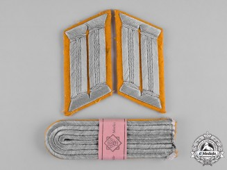 Germany, Heer. A Set of Army Leutnant Rank Insignia