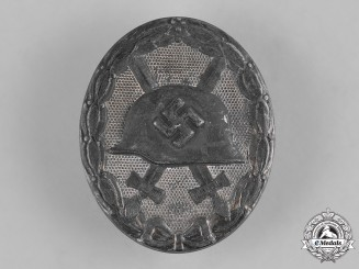 Germany, Wehrmacht. A Wound Badge in Silver, by Förster & Barth